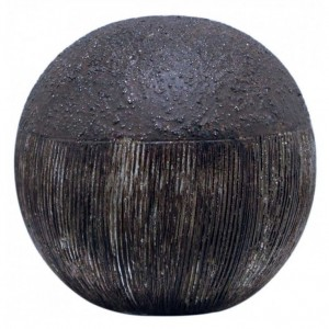 Textured Copper Decor Ball Bronze 10cm