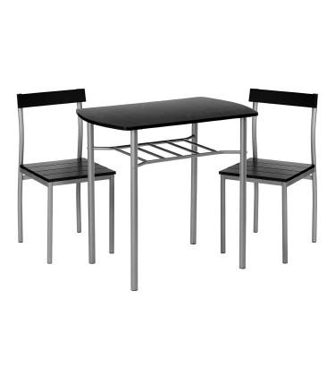 Black 3pcs Dining Set