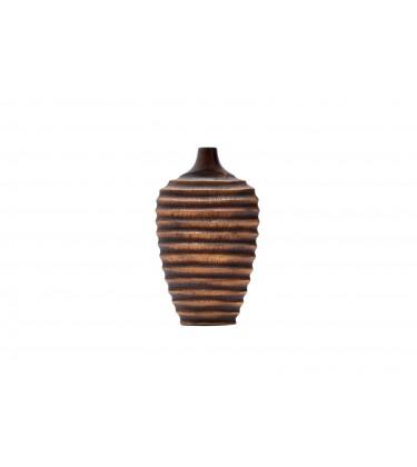 Kiko Small Brown Narrow Neck Table Vase 40cm