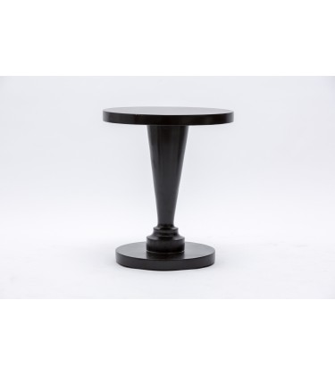 RV Round Wooden Side Table