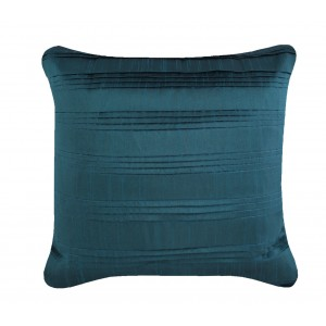 Pleated Taffeta Cushion Teal