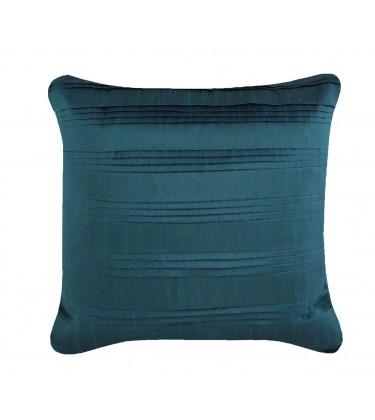 Pleated Taffeta Cushion Teal