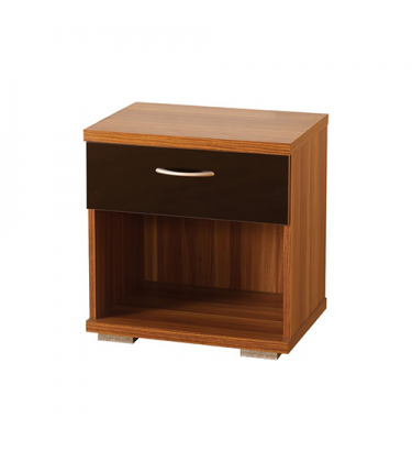 Shearwater 1 Drawer Bedside Table