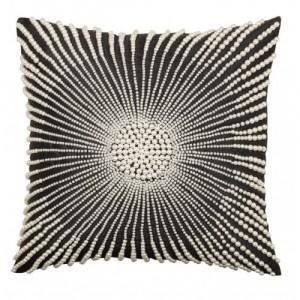 Black Pearl Statement Cushion