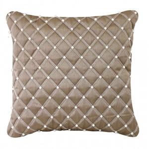 Small Pearl Cushion Mocha