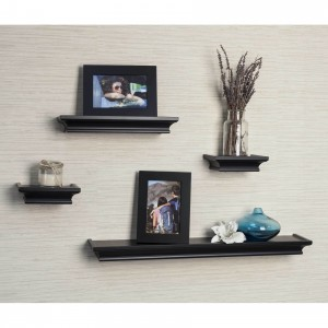 Set of 4 Decorative Floating Shelf
