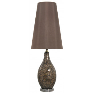 Mosaic Tena Table Lamp Brown and Bronze