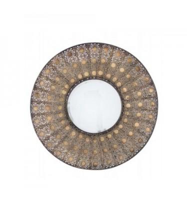 Bronze Arab Style Mirror