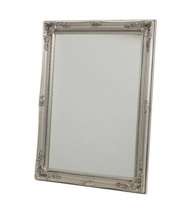 Classic Silver Frame Mirror