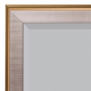 Gold and Silver Woston Wall Mirror