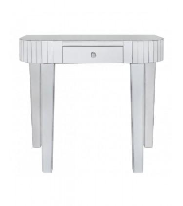 Tile Mirror Console Table