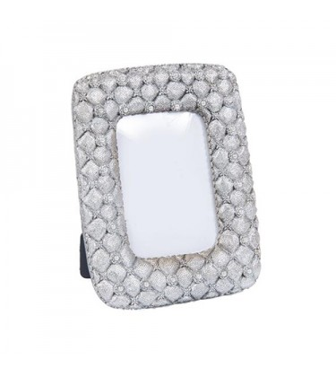 "Enna Pearls Silver Photo Frame 5"" by 7"""