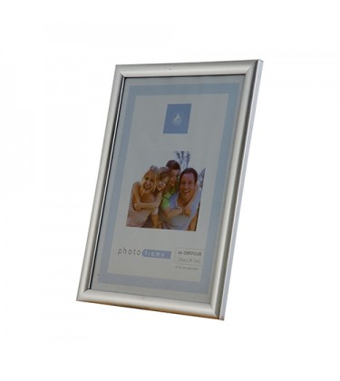 "Silver Picture Frame 5"" by 7"""