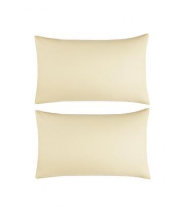 Percale Non Iron Cotton 2pc Pillow Cases