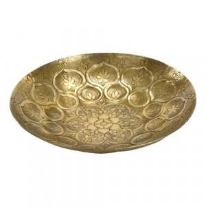 Gold Moroccan Decorative Bowl 33cm