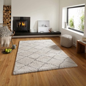 Royal Madic Cream and Grey Rug