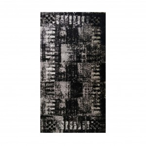 Boyteks Hali Luxury Rug Black and Grey