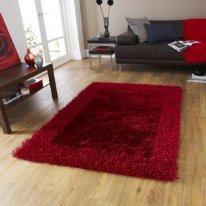 Sabby Extra Red Rug