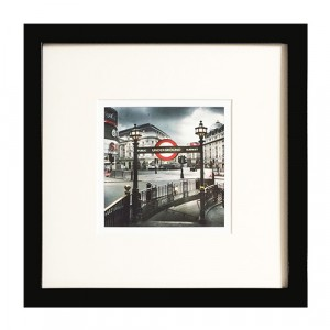 Set of 3 Framed Print 29cm by 29cm