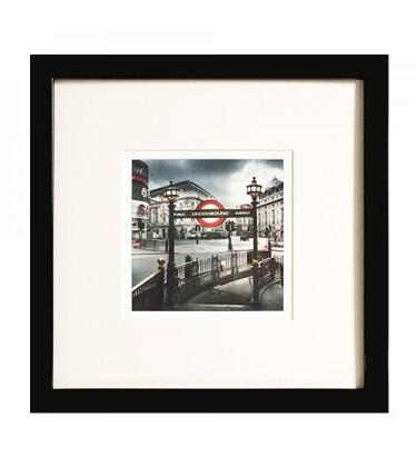 Set of 3 Framed Print 29cm by 29cm