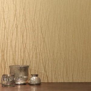 Viso Gold Heavy Weight Textured Luxury Wallpaper