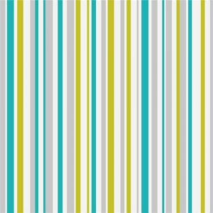 Super Stripe Teal and Green Wallpaper 5sqm
