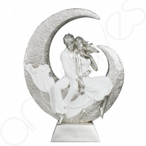 White Summer of Love Sculpture
