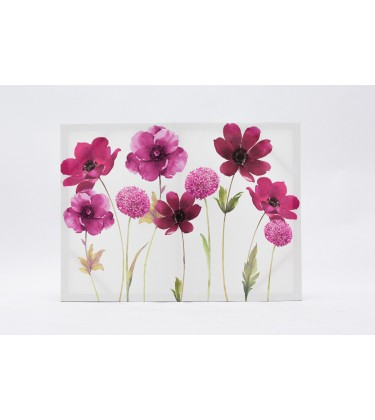 Purple Daisy Canvas Wall Art