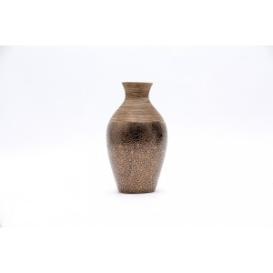 Bronze Crackled Effect Vase 36cm