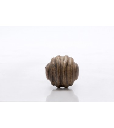Carved Decor Ball Wooden 10cm