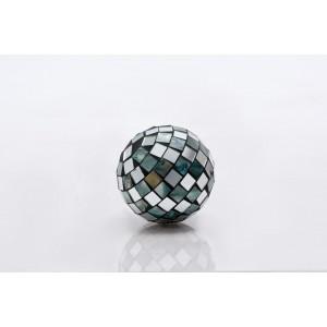 Shell Silver Decor Ball 10cm