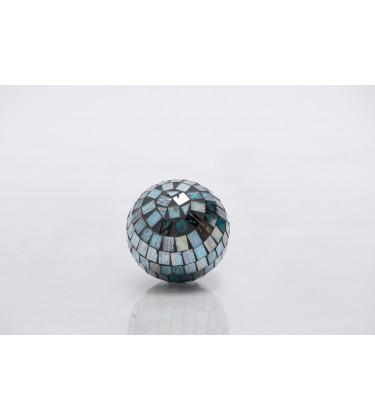 Blue Mosaic Decor Ball 10cm