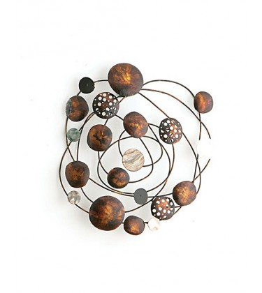 Eclipse Shell Metal Wall Art