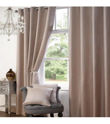Vivente Luxury Eyelet Curtain 90in by 90in